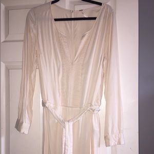 FREE PROPLE cream jumpsuit. Never been worn.